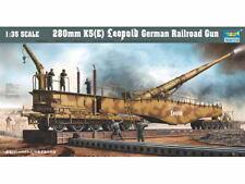 TRUMPETER® 00207 WWII German Railroad Gun Leopold 280mm K5(E) in 1:35