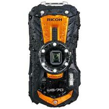 RICOH WG-70 Digital Camera Black 16MP 5x Optical Zoom Lens Waterproof Shockproof