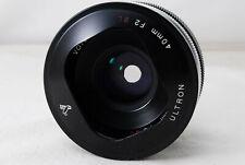 VOIGTLANDER ULTRON 40mm F2 SL ASPHERICAL for Nikon from Japan