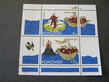 Faroe Islands 1994 Europa Min. Sheet Sg Ms255 Mnh
