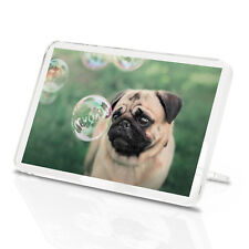 Awesome Pug Nosed Classic Fridge Magnet - Puppy Animal Pets Lover's Gift #16800