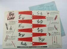 Brochure For Flying Ace Toy Line Roller Skates, Golf Sets +