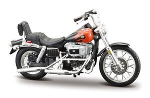 Harley-Davidson 1980 FXWG Wide Glide 1:24 Motorcycle