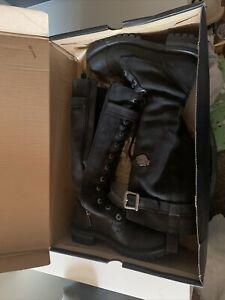 Harley Davidson Womens Boots Size 7