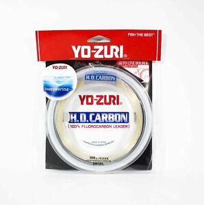 Yo Zuri Duel H.D Carbon Fluorocarbon 30 yds 100 lb R896-CL (0962)