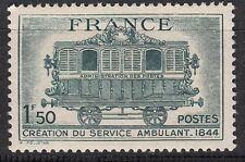 FRANCE TIMBRE  N° 609 ** TRAIN SERVICE POSTALE AMBULANT