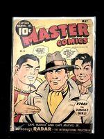 MASTER COMICS #50 FAWCETT COMICS CAPTAIN MARVEL,RADAR ORIGIN 1944
