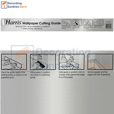 Harris Wallpaper Cutting Guide 580 mm | Metal Self Standing Cutting Guide