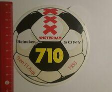 Aufkleber/Sticker: Heineken Sony Amsterdam 710 1985 (261216141)