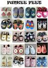 NEW SOFT LEATHER BABY SHOES BOY & GIRL SHOES 0-6, 6-12, 12-18, 18-24 UNISEX
