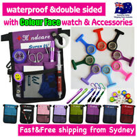 Nurse Pouch and Colour Face FOB Watch Extra Pocket Wallet PICK BAG Penlight Pen