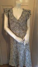 Rocha John Rocha Bird Print Midi Dress 16