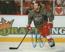 Detroit Red Wings Dan Cleary Signed Autographed 8x10 Photo COA B