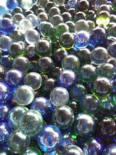 10 pounds - Glass Marbles,Assorted,  7/8