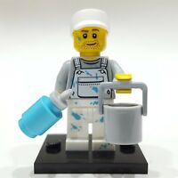 "LEGO Collectible Minifigure #71001 Series 10 ""DECORATOR (PAINTER)"" (Complete)"
