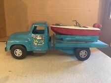 buddy l dock co. marine supply truck and boat