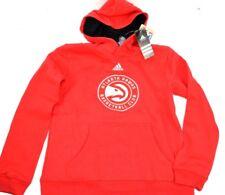 NBA Atlanta Hawks Youth Boys ADIDAS Prime Team Pullover Hoodie, Red XL 18