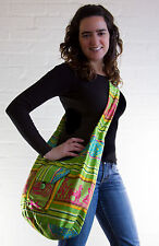 Handmade Colourful Large Shoulder Bag - Ethically Sourced from Ecuador
