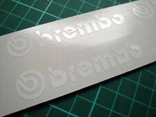 6 x Brembo Brake Caliper Calliper Decals Stickers - Various Sizes and Colours