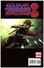 Marvel Zombies 3 (2008) #1C VF 8.0 Second Printing Deadpool