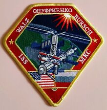 LMH PATCH Badge NASA EXPEDITION 4  International Space Station ISS 2001 MKC WALZ