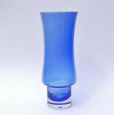 Blue Vase Hand Blown Glass
