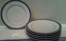 A Beautiful Set of Six Raynaud Limoges Biarritz Dinner Plates