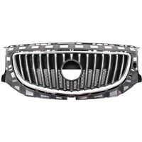 Grille For 2011-2013 Buick Regal Chrome Shell w/ Black Insert Plastic