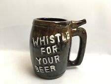 More details for whistle for your beer wet your whistle tankard made in japan