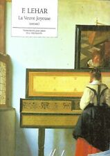 Partition piano - F. Lehar - La veuve joyeuse