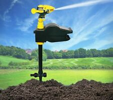 Solar Motion Scarecrow Spray Animal Repeller Activated Garden Water Sprinkler