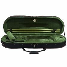 SKY 4/4 Full Size Premium Halfmoon Lightweight Violin Hard Case with Hygrometer