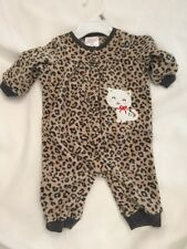 Little Wonders  Snap Front Coverall Size 0 - 3 M