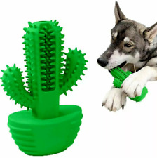 CACTUS Dog Toothbrush Chew Toy Dogs Green