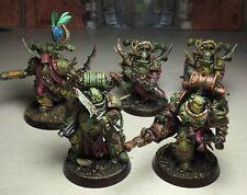 40k Death Guard Plague Marines x5 Kill Team *painted*