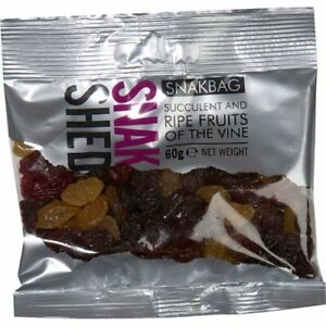 Snak Shed Fruits of the Vine 4 x 60g