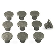 10 x Pewter Finish Knobs Door / Drawer Cupboard Pull | kitchen cabinet handle