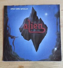 Alien  ‎– Only One Woman Vinyl single 1988 EXC