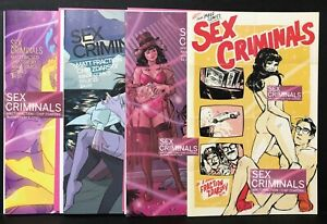 SEX CRIMINALS #19 20 22 23 XXX Covers ANNIE WU Margarite Sauvage NM Image Comics