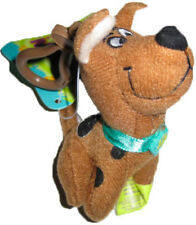 "** R@RE ** Scooby-Doo 3.5"" Plush Key-Chain Clip-On BRAND NEW!!!"