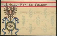 """1905 - 41 Reggimento Fanteria - """"Per se fulget"""""""