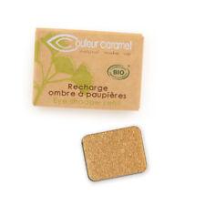 Recharge Fard à Paupières n°109 Feuille d'Or nacré Bio - 1,3 g - Couleur Caramel