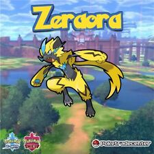 Pokemon Sword And Shield Zeraora 6Ivs Max Evs