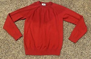 **VERY NICE** Boys Class Club Sweater Pullover--RED--14/16