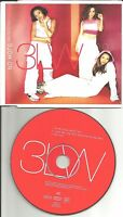 3LW w/ NAS No More / I can't REMIX & UNRELEASE TRX CD Single USA Seller