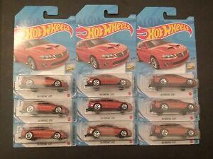 Hot Wheels 2021 HW Factory Fresh 2006 Pontiac GTO x 9!!!