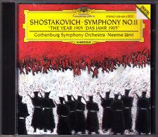 Neeme JÄRVI: SHOSTAKOVICH Symphony No.11 The Year 1905 JARVI CD Schostakowitsch