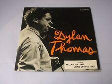 "Dylan Thomas:  Reading Ballad Of The Long-legged Bait   1959  EX+  7"""