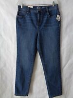 Style & Co Women's Petite Blue Slim Leg High Rise Jeans Size 12 P NWT