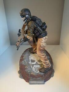 *RARE* Tom Clancys Ghost Recon Future Soldier John Kozak Statue Figure Figurine